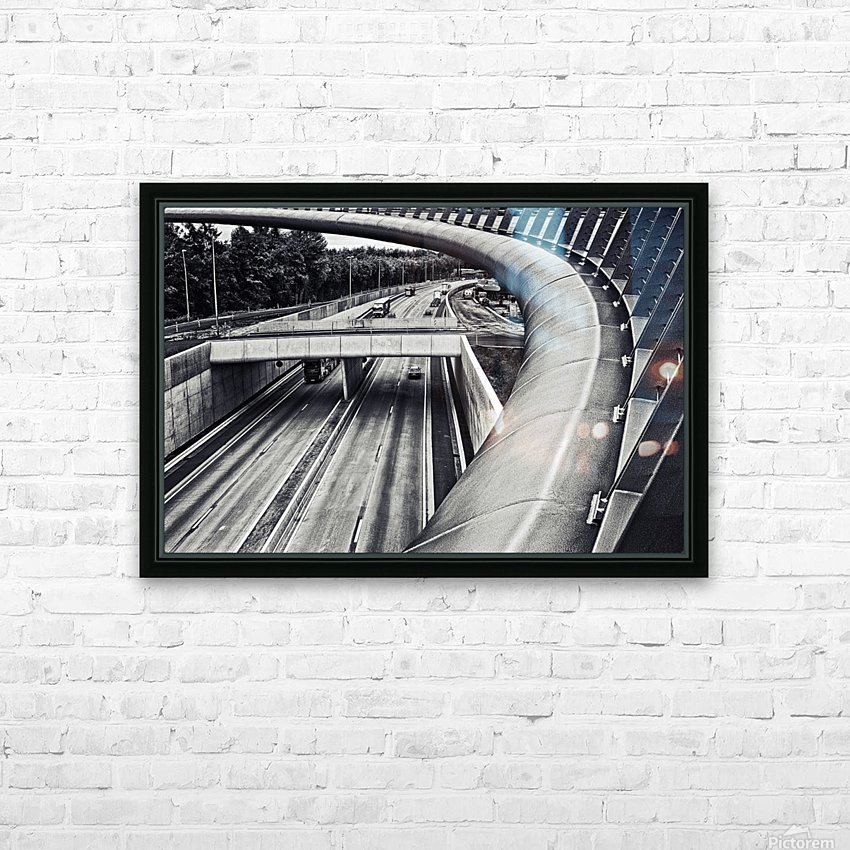 circulation HD Sublimation Metal print with Decorating Float Frame (BOX)
