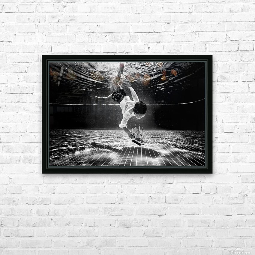 Mercan HD Sublimation Metal print with Decorating Float Frame (BOX)