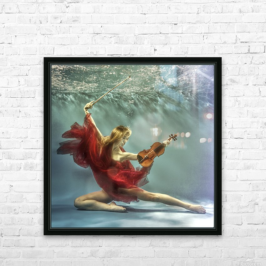 Prelude HD Sublimation Metal print with Decorating Float Frame (BOX)