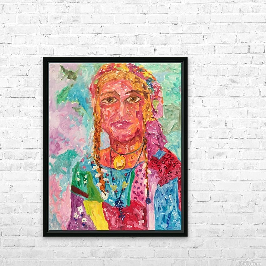 Gypsy Queen HD Sublimation Metal print with Decorating Float Frame (BOX)