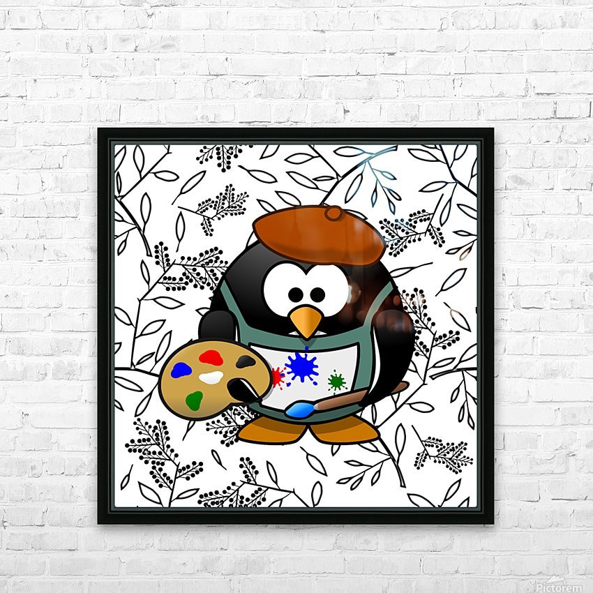 Art50 HD Sublimation Metal print with Decorating Float Frame (BOX)