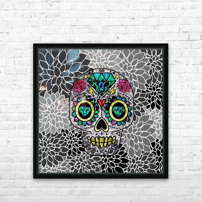 Art49 HD Sublimation Metal print with Decorating Float Frame (BOX)