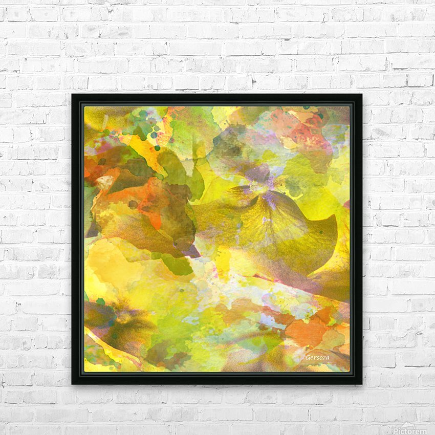 Art182 HD Sublimation Metal print with Decorating Float Frame (BOX)