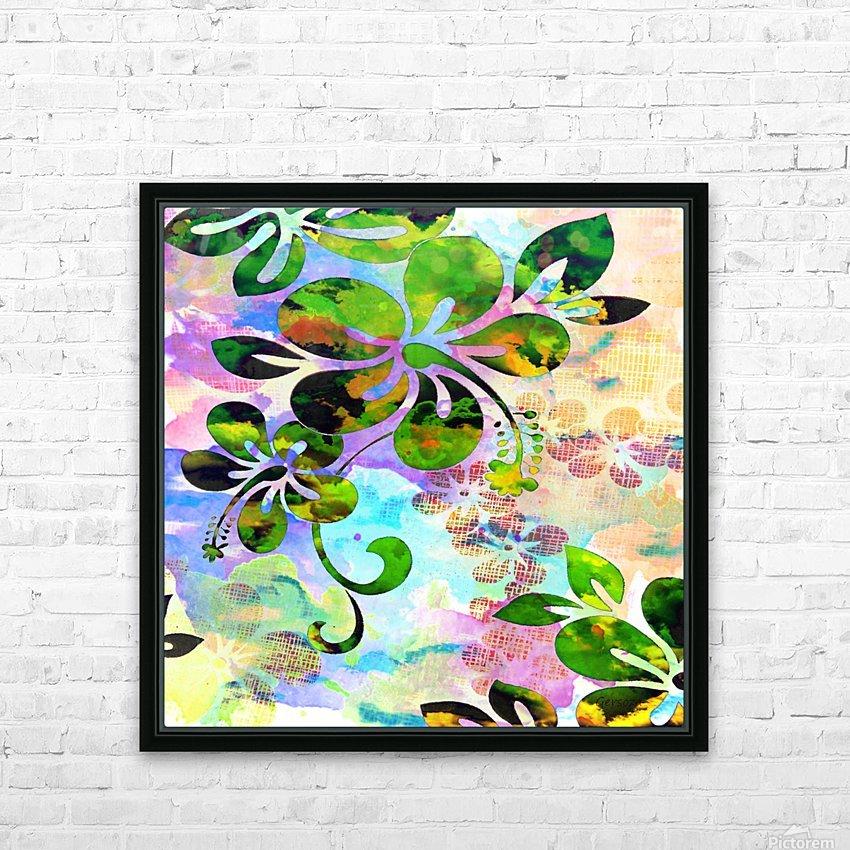 Art206 HD sublimation métal imprimé avec décoration flotteur cadre (boîte)