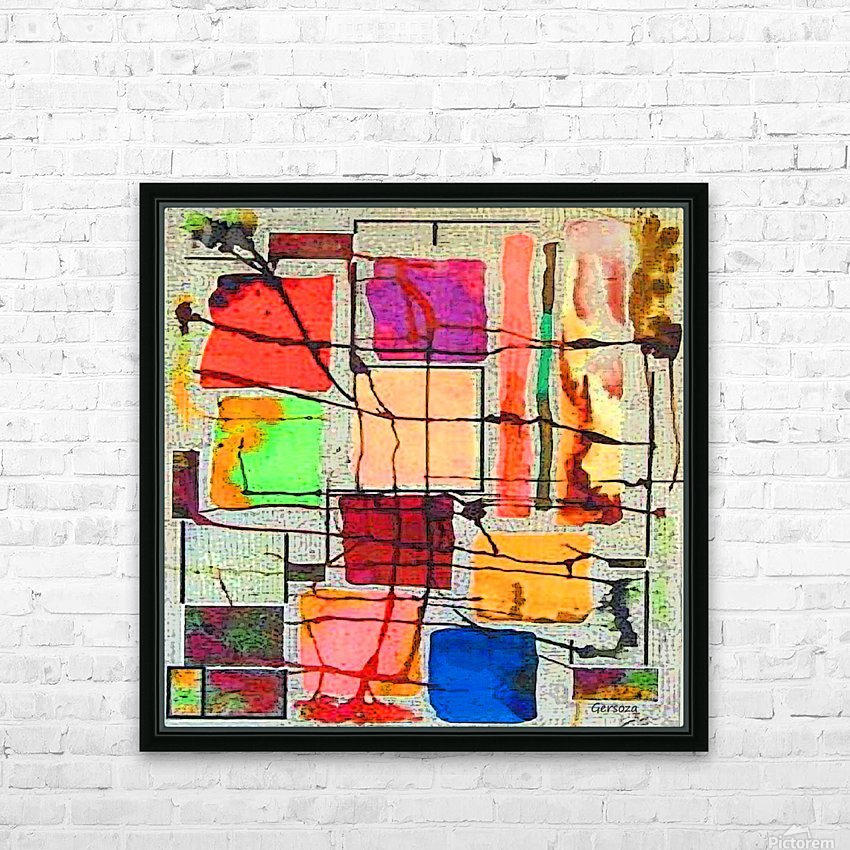 Art198 HD Sublimation Metal print with Decorating Float Frame (BOX)