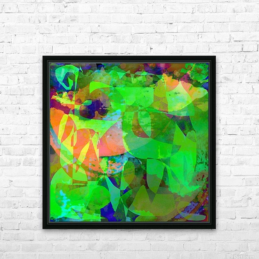 Art211 HD sublimation métal imprimé avec décoration flotteur cadre (boîte)