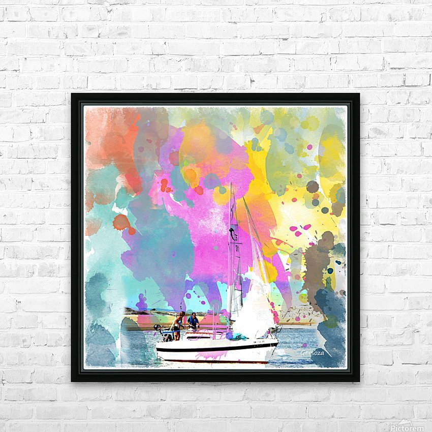 Art197 HD Sublimation Metal print with Decorating Float Frame (BOX)