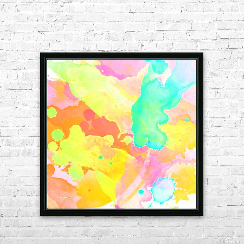Art218 HD Sublimation Metal print with Decorating Float Frame (BOX)