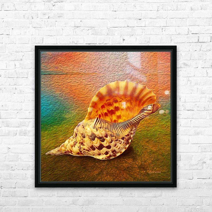 Art213 HD Sublimation Metal print with Decorating Float Frame (BOX)