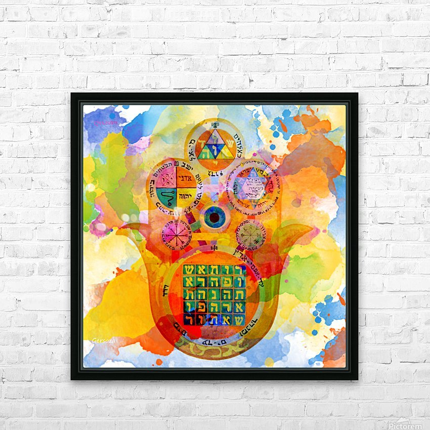 Art227 HD Sublimation Metal print with Decorating Float Frame (BOX)