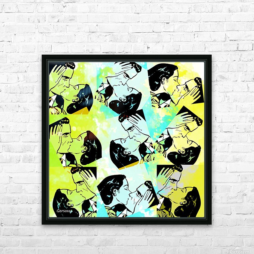 Art235 HD Sublimation Metal print with Decorating Float Frame (BOX)