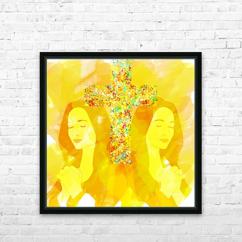Art232 HD Sublimation Metal print with Decorating Float Frame (BOX)