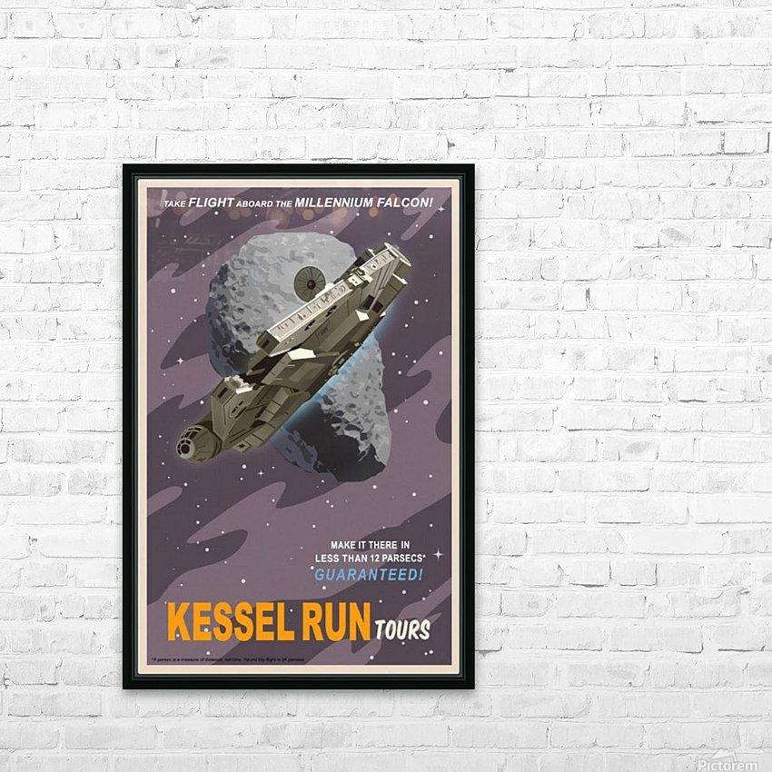 Kessel Run Tours - VINTAGE POSTER - Canvas Artwork