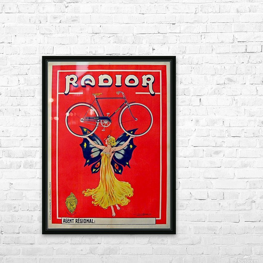 Radior HD Sublimation Metal print with Decorating Float Frame (BOX)