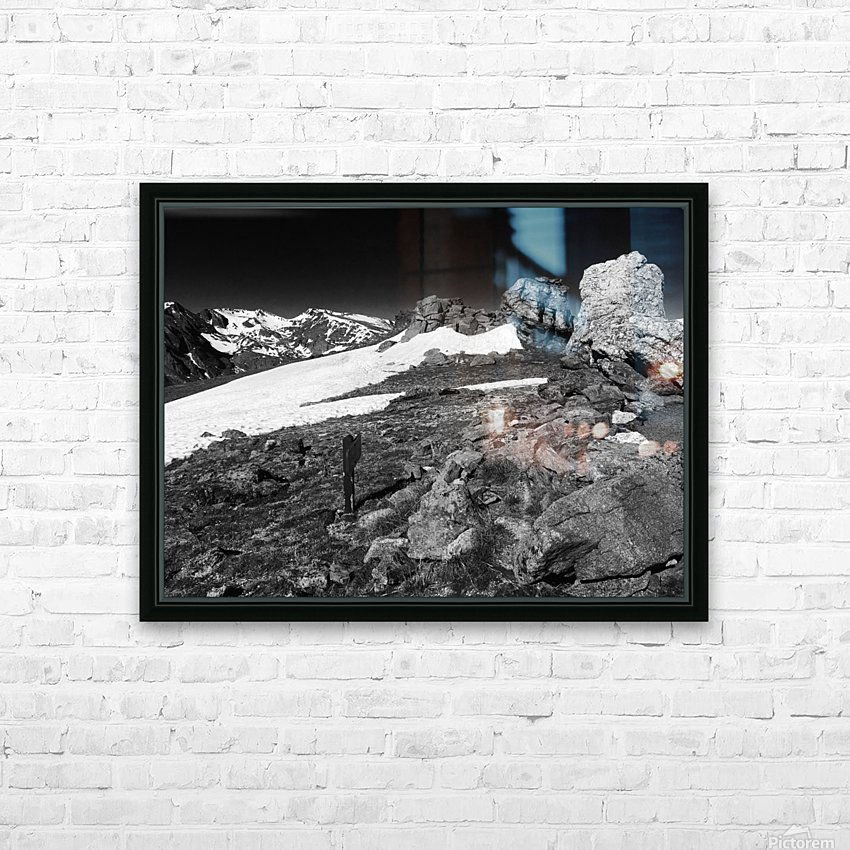 The Tundra HD Sublimation Metal print with Decorating Float Frame (BOX)