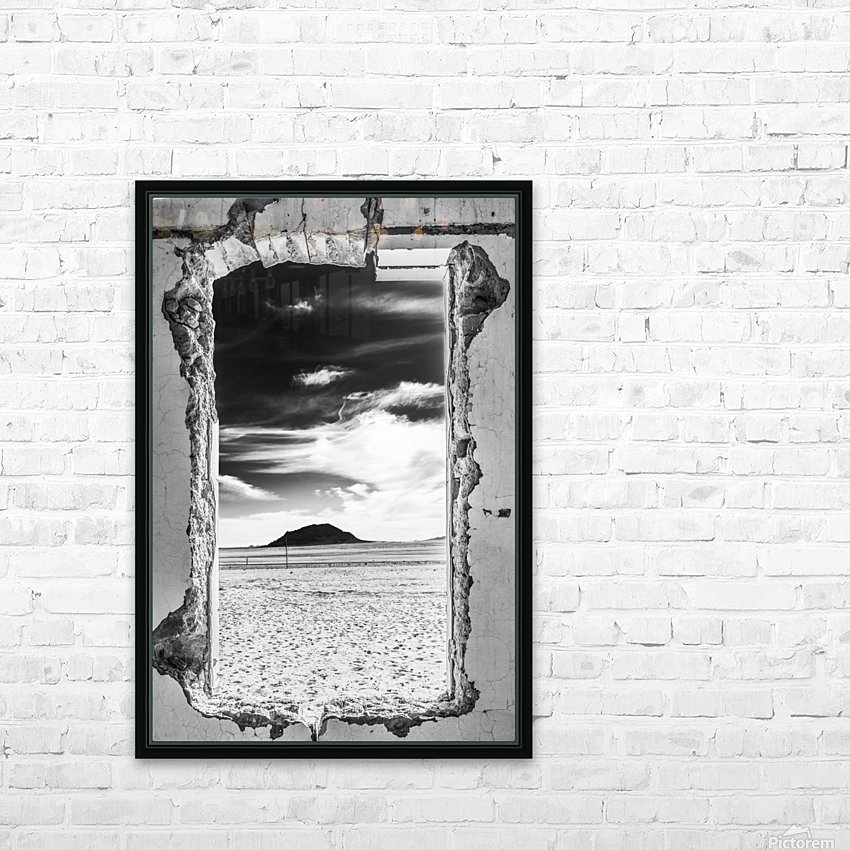 Out There! HD Sublimation Metal print with Decorating Float Frame (BOX)