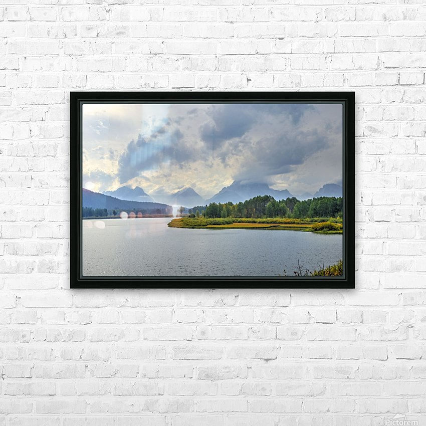 High Country Storm HD Sublimation Metal print with Decorating Float Frame (BOX)
