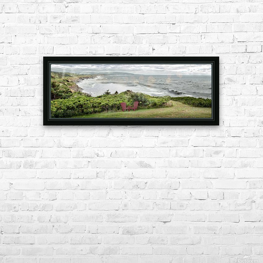 Chilling at Cap Lemoine HD Sublimation Metal print with Decorating Float Frame (BOX)