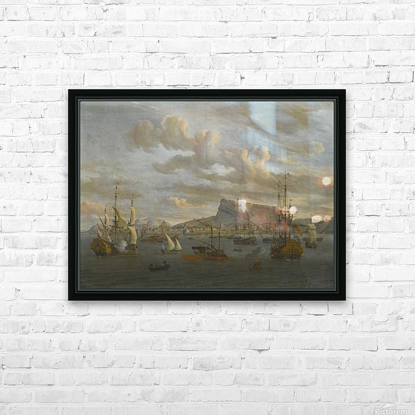 A view of Nafp HD Sublimation Metal print with Decorating Float Frame (BOX)