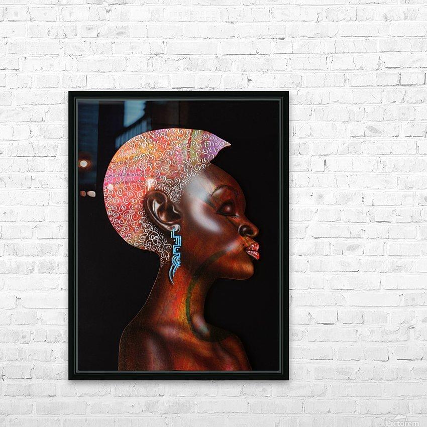 Nzinga HD Sublimation Metal print with Decorating Float Frame (BOX)