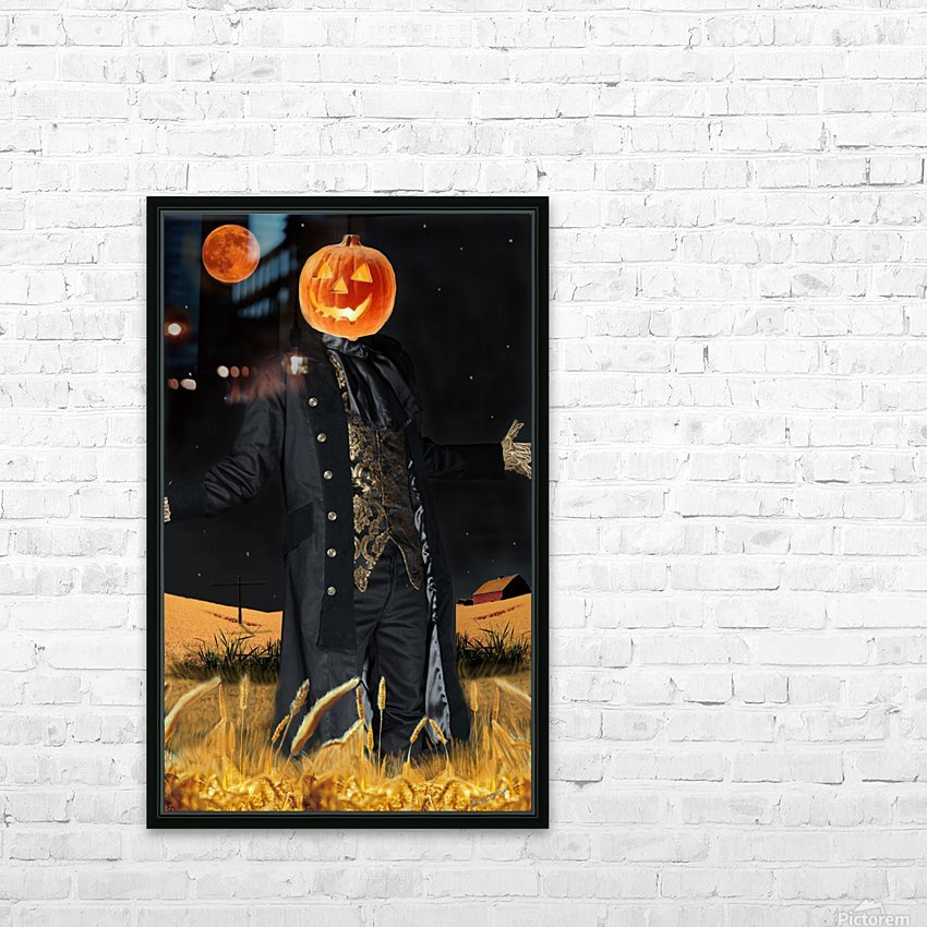 Pumpkinhead by J Gregory HD Sublimation Metal print with Decorating Float Frame (BOX)