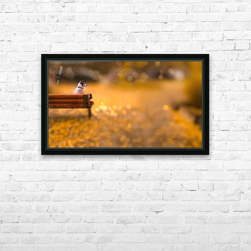 Waiting HD Sublimation Metal print with Decorating Float Frame (BOX)