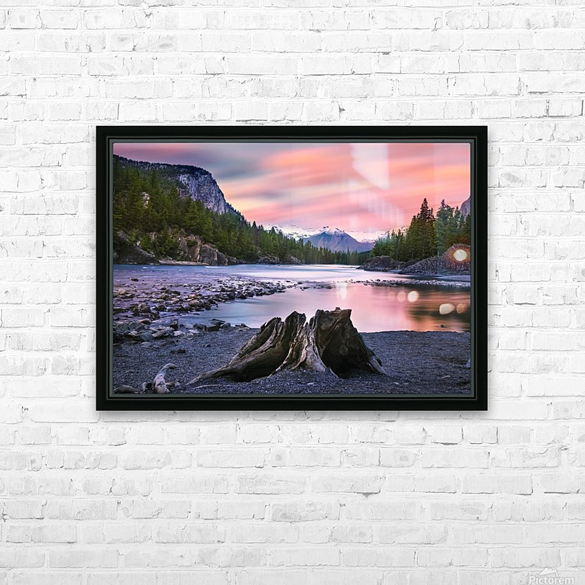 Daylight HD Sublimation Metal print with Decorating Float Frame (BOX)
