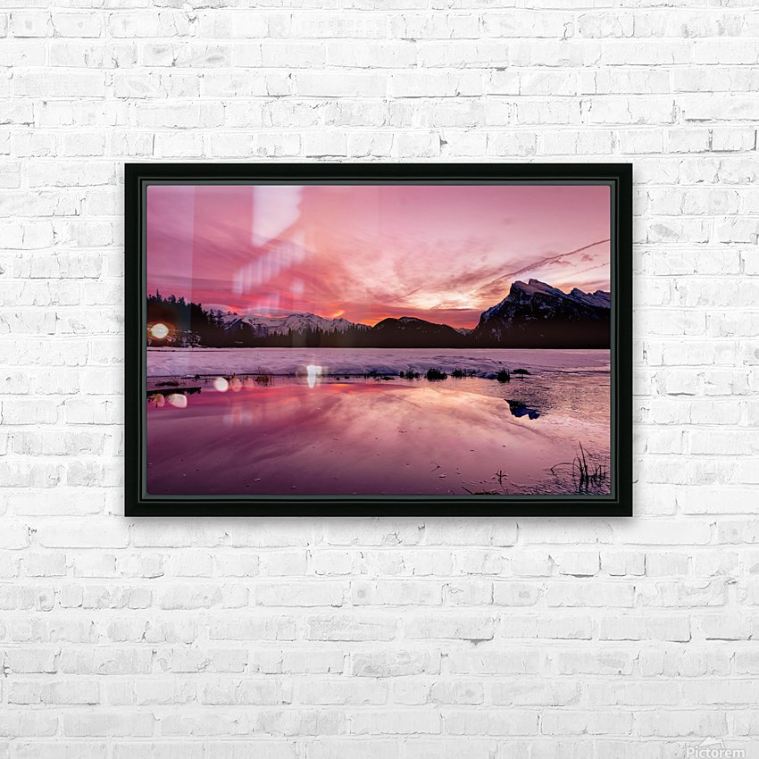 Spellbinding HD Sublimation Metal print with Decorating Float Frame (BOX)