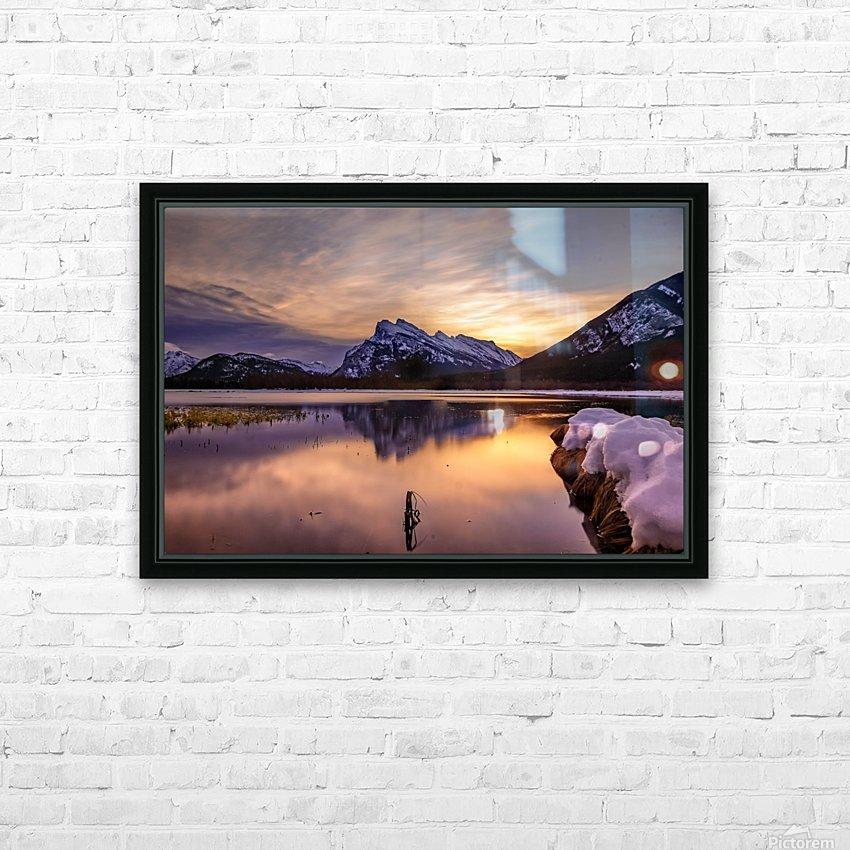 Sacred Awakening HD Sublimation Metal print with Decorating Float Frame (BOX)