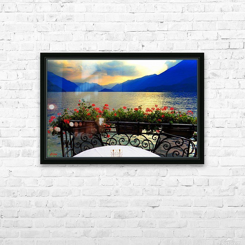 Unspoiled Beauty HD Sublimation Metal print with Decorating Float Frame (BOX)