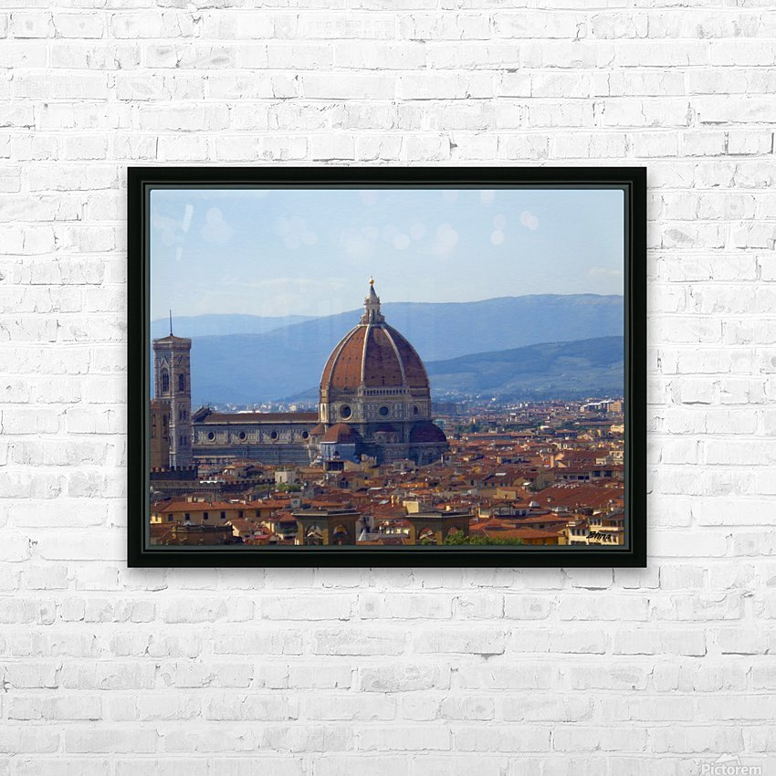 The Magic of Florence HD Sublimation Metal print with Decorating Float Frame (BOX)