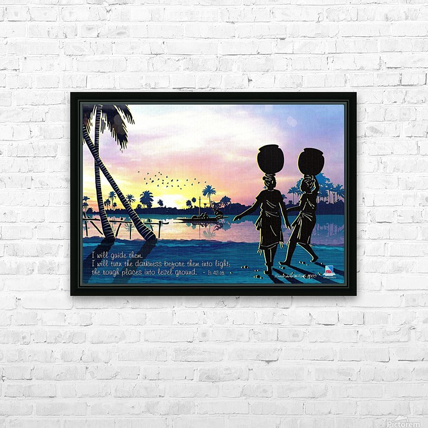 Riverside Maidens HD Sublimation Metal print with Decorating Float Frame (BOX)