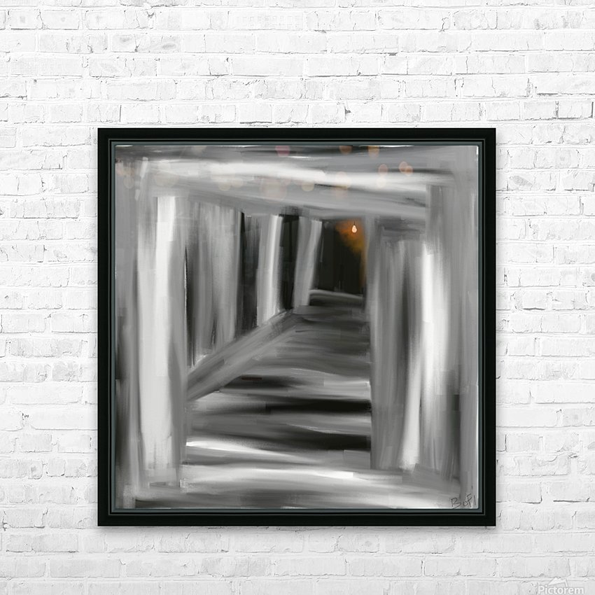 To the unknown  HD Sublimation Metal print with Decorating Float Frame (BOX)