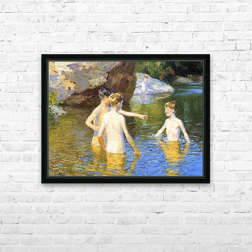 In the Summertime HD Sublimation Metal print with Decorating Float Frame (BOX)