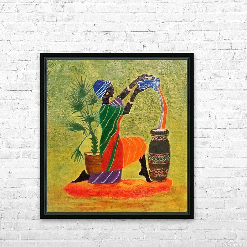 Exquisite Forever HD Sublimation Metal print with Decorating Float Frame (BOX)