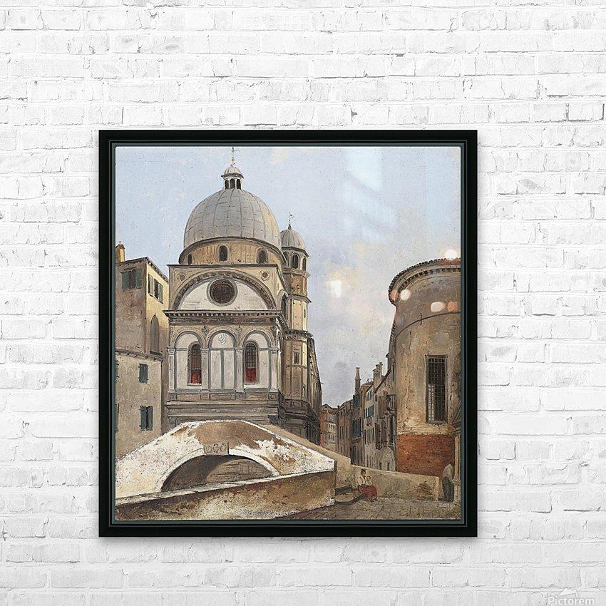Santa Maria dei Miracole e Santa Maria Nova HD Sublimation Metal print with Decorating Float Frame (BOX)