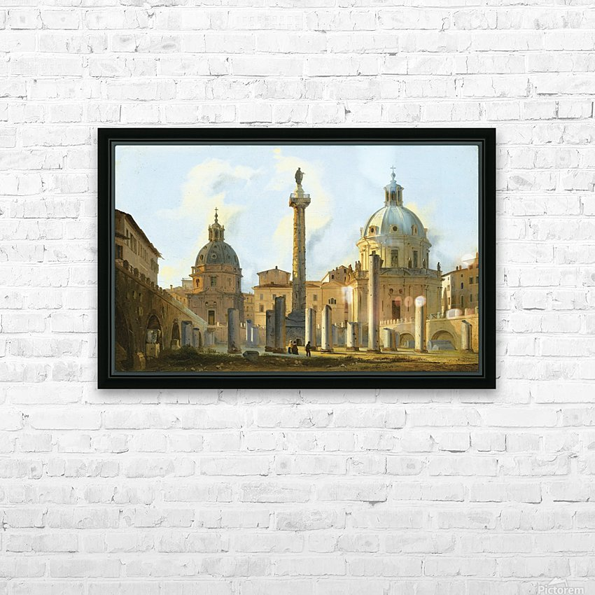 View of Trajan Forum in Rome HD Sublimation Metal print with Decorating Float Frame (BOX)