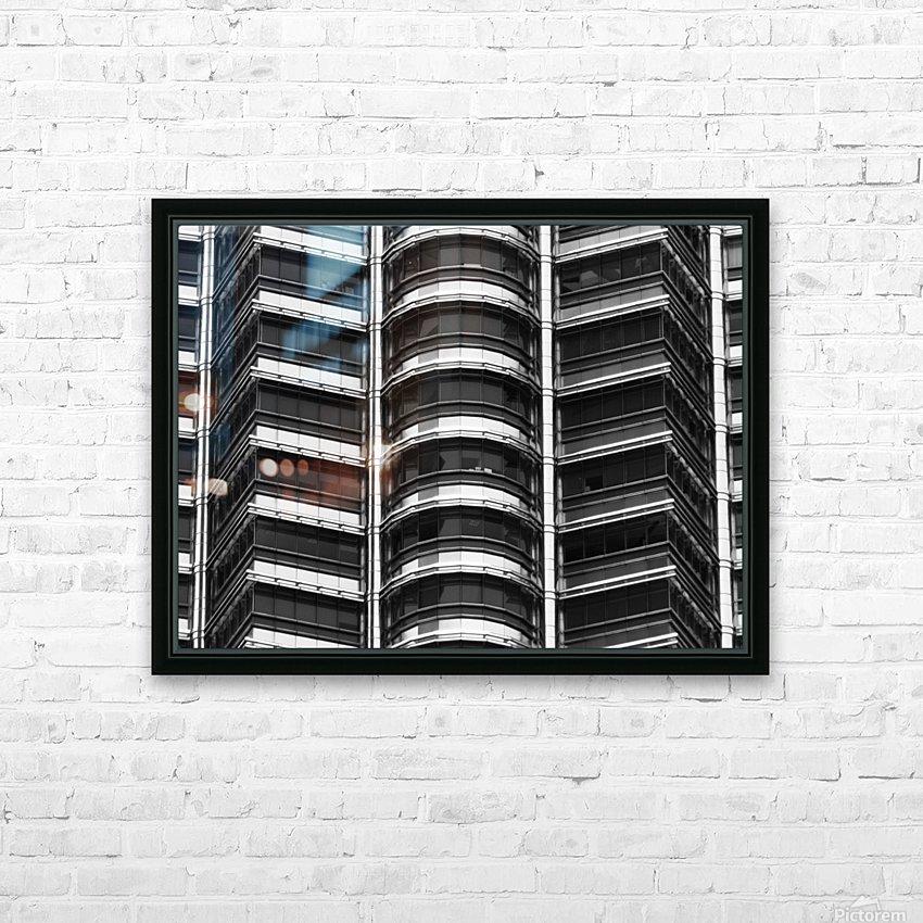 Kuala Lumpur Petronas Twin Towers Malaysia HD Sublimation Metal print with Decorating Float Frame (BOX)