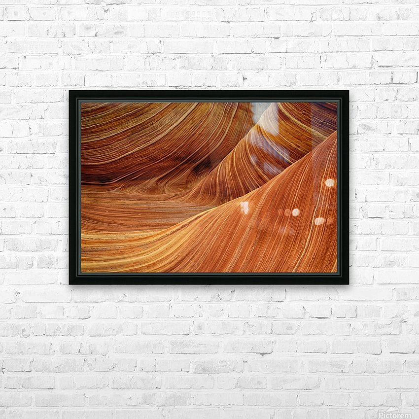 sandstone HD Sublimation Metal print with Decorating Float Frame (BOX)