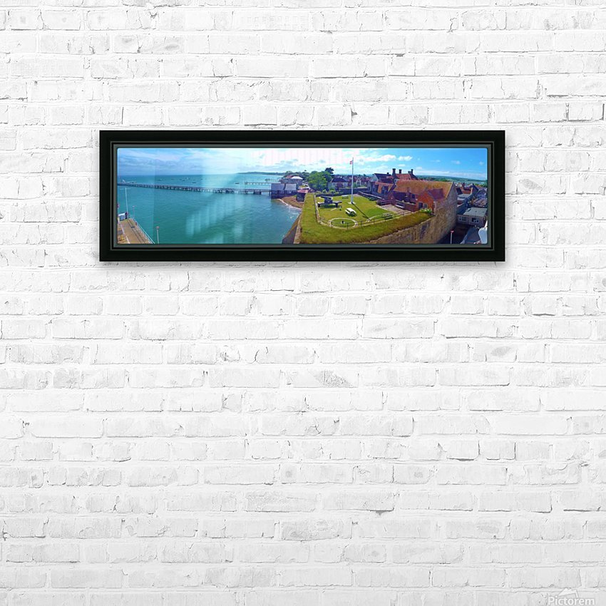 Ferry view HD Sublimation Metal print with Decorating Float Frame (BOX)