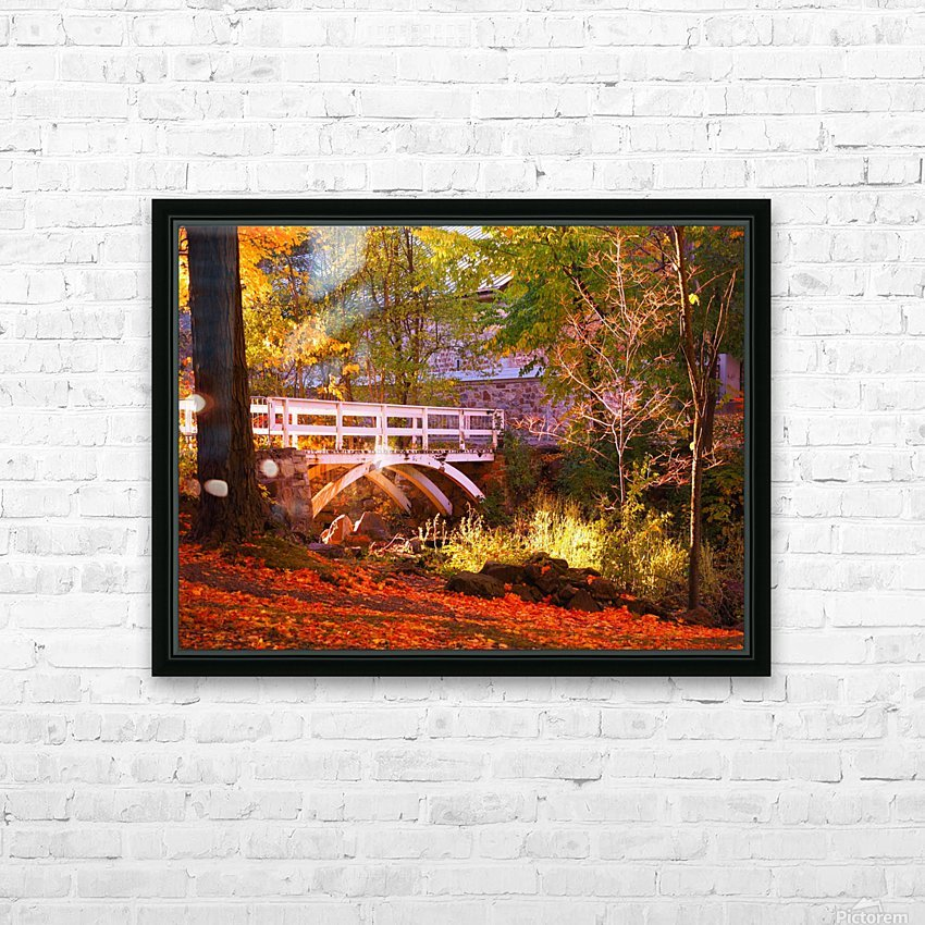 Autumn Colors II HD Sublimation Metal print with Decorating Float Frame (BOX)