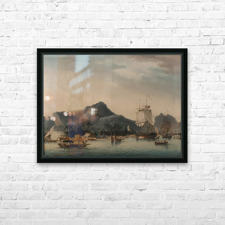The Resolution and Discovery off Hawaii HD Sublimation Metal print with Decorating Float Frame (BOX)