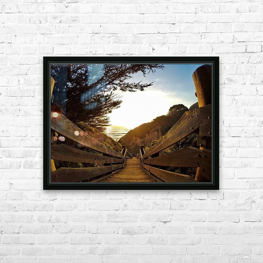Montara HD Sublimation Metal print with Decorating Float Frame (BOX)