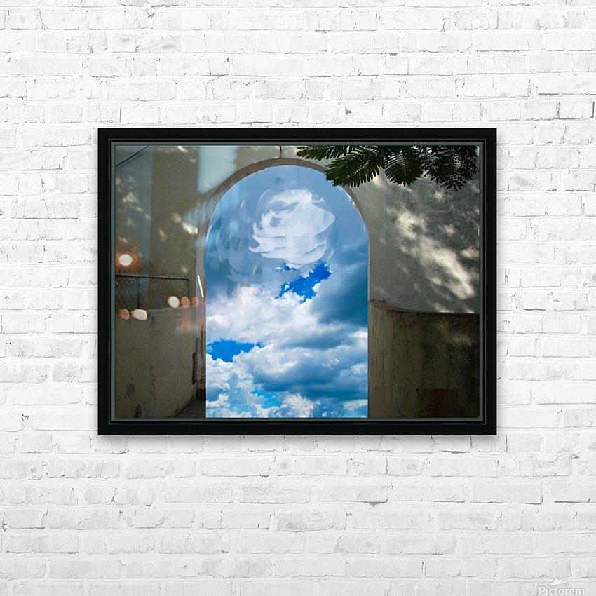 ArtDesign26.com   gate to sky HD Sublimation Metal print with Decorating Float Frame (BOX)