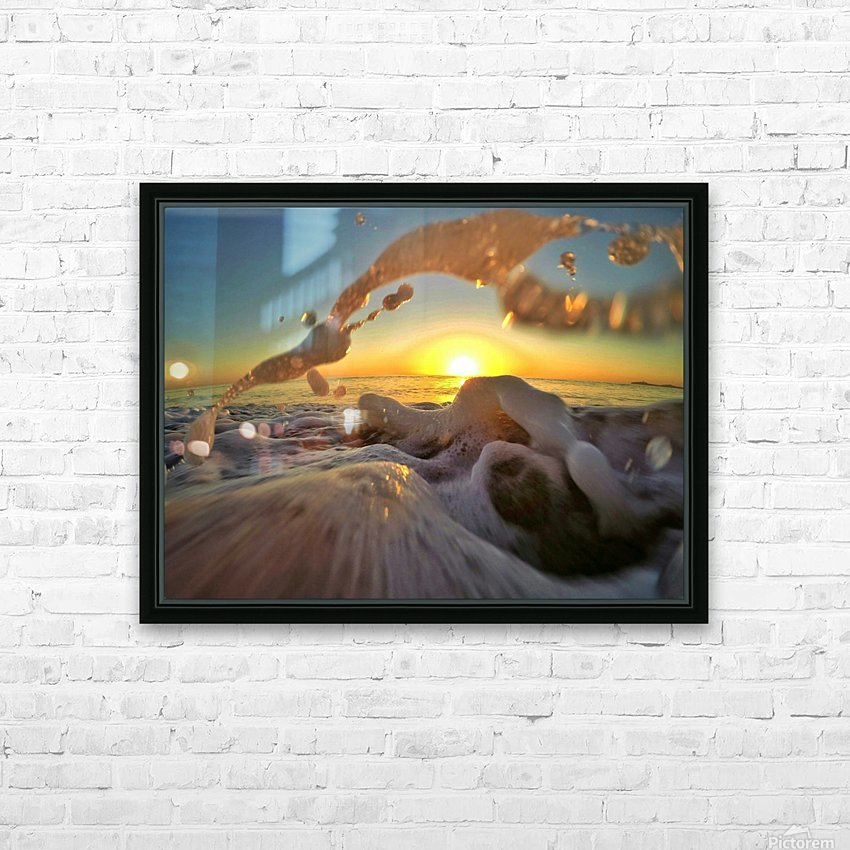 Peace Within the Chaos HD Sublimation Metal print with Decorating Float Frame (BOX)