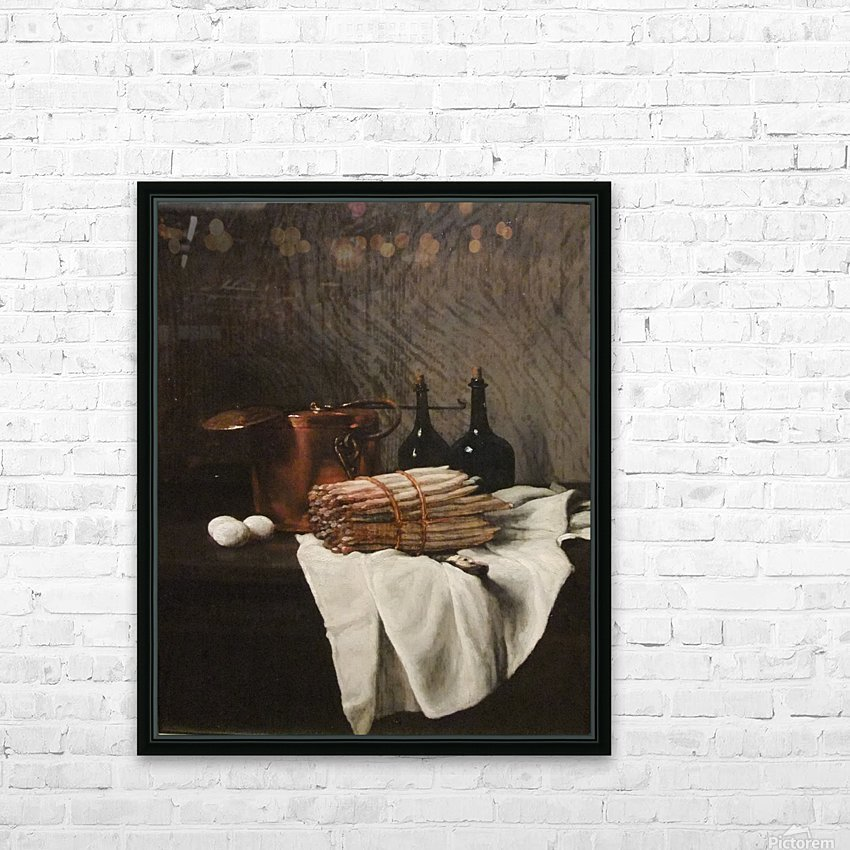 Still life on withe cloth HD Sublimation Metal print with Decorating Float Frame (BOX)
