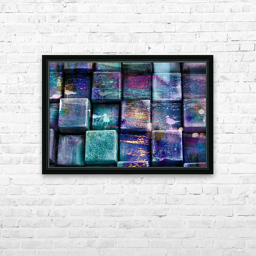 cubes 447703 HD Sublimation Metal print with Decorating Float Frame (BOX)