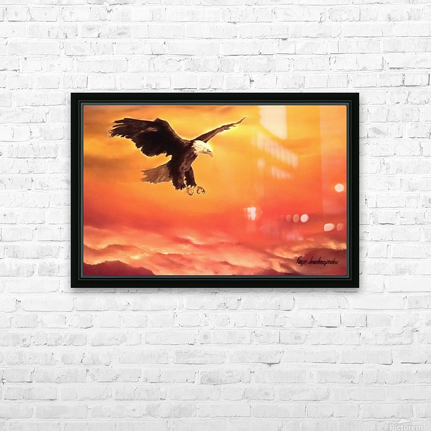 Soaring High HD Sublimation Metal print with Decorating Float Frame (BOX)