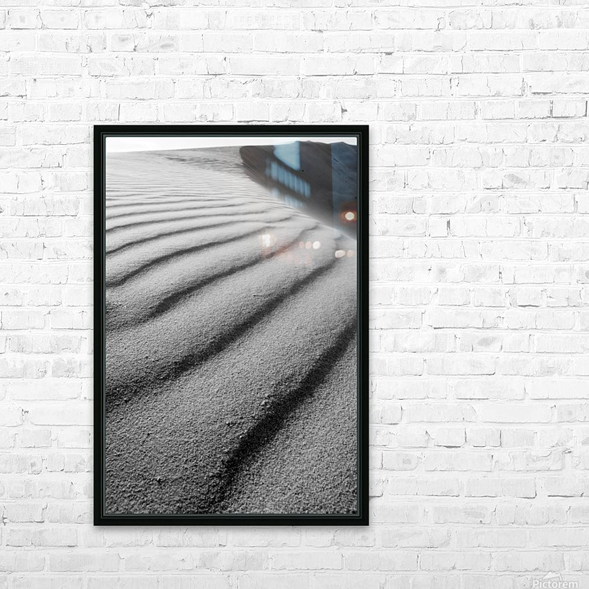 Dune HD Sublimation Metal print with Decorating Float Frame (BOX)