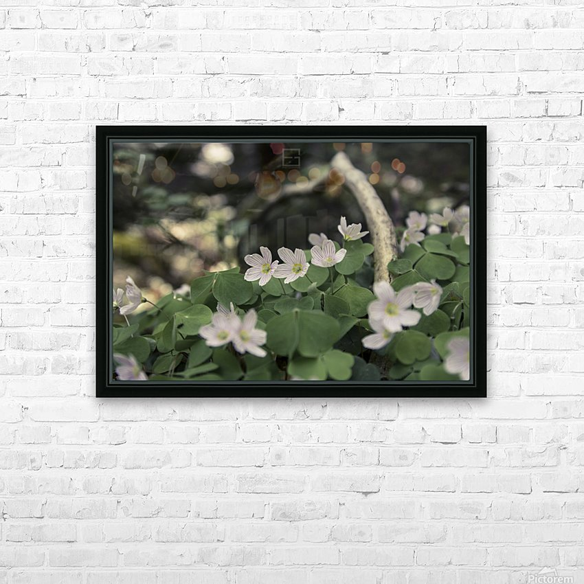 bokeh HD Sublimation Metal print with Decorating Float Frame (BOX)